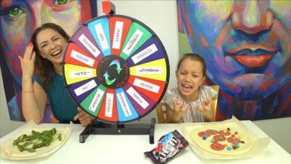 КРЕЙЗИ РУЛЕТКА Пицца Челлендж Mistery Wheel of Pizza Challenge /// Вики Шоу